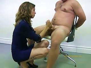 Policewoman Tortures Naked Offender By  And Ruining His